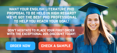 Phd research proposal in english literature