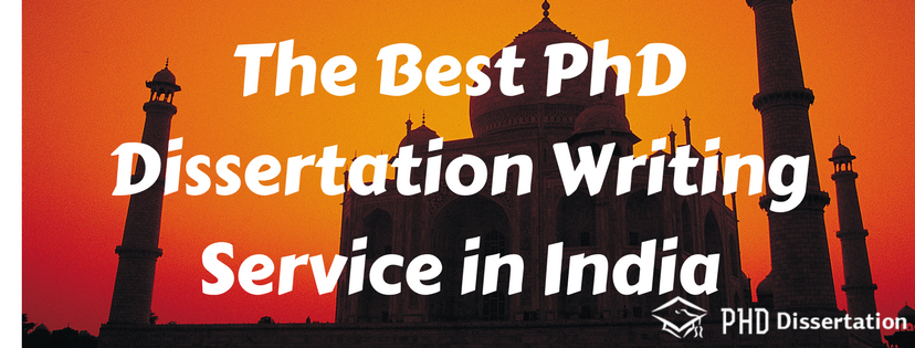 Phd thesis writing services india