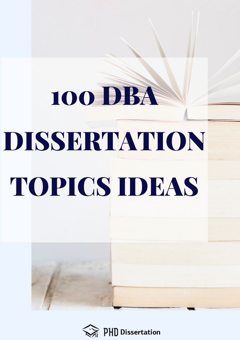 professional dba thesis topics